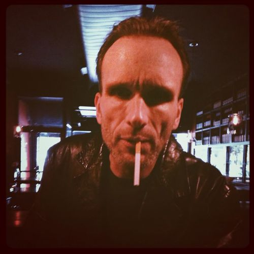 Hanging out with Z guy from Pulp Fiction - Peter Greene.