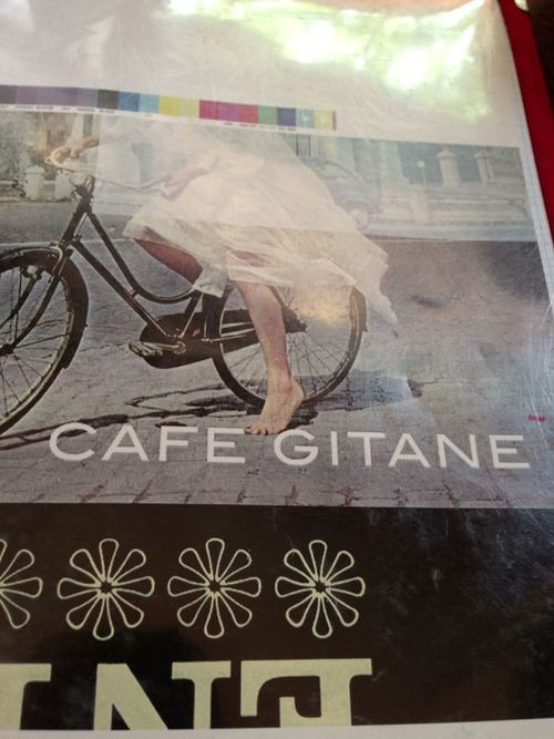 Lunch at one of my favorite spots, Cafe Gitane in Nolita