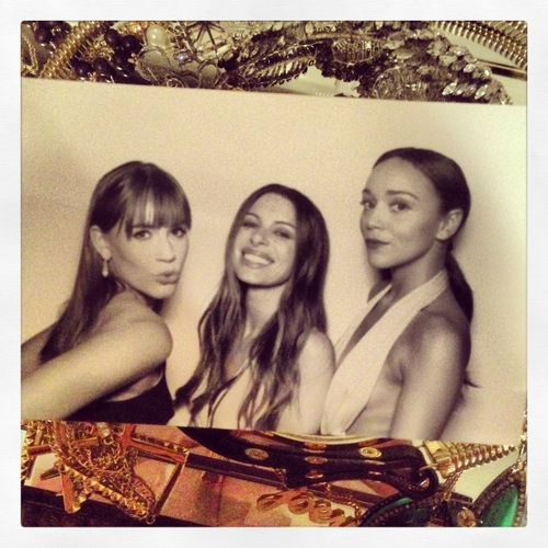 InStyle photo booth moment...