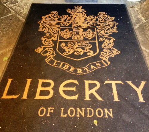 LIBERTY of LONDON might even be better than BARNEYS......