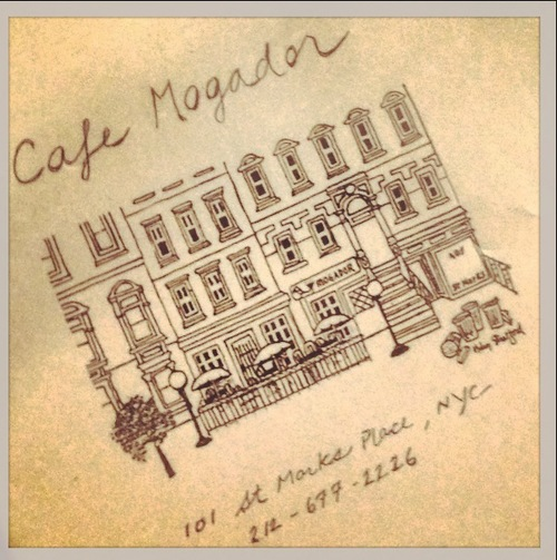 A trip to the city is NOT complete without breakfast at MOGADORS. The Mediterranean breakfast is the CURE ALL.  Website: CAFE MOGADOR