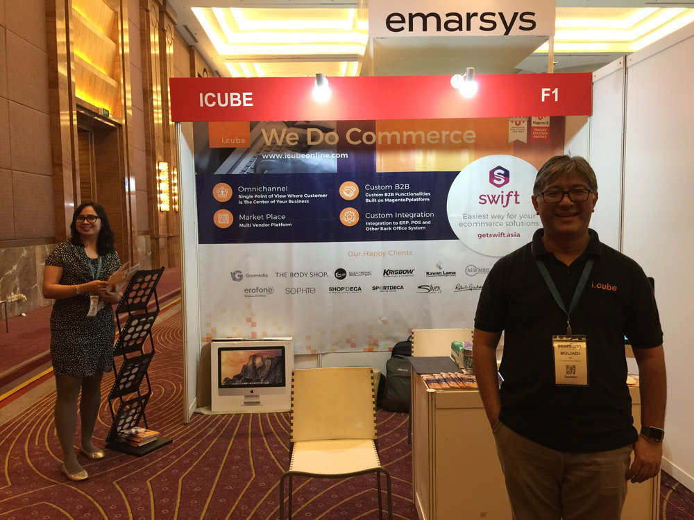 ICUBE is at booth F1 - Seamless Indonesia, Pullman Hotel @Central Park, Jakarta     schedule :