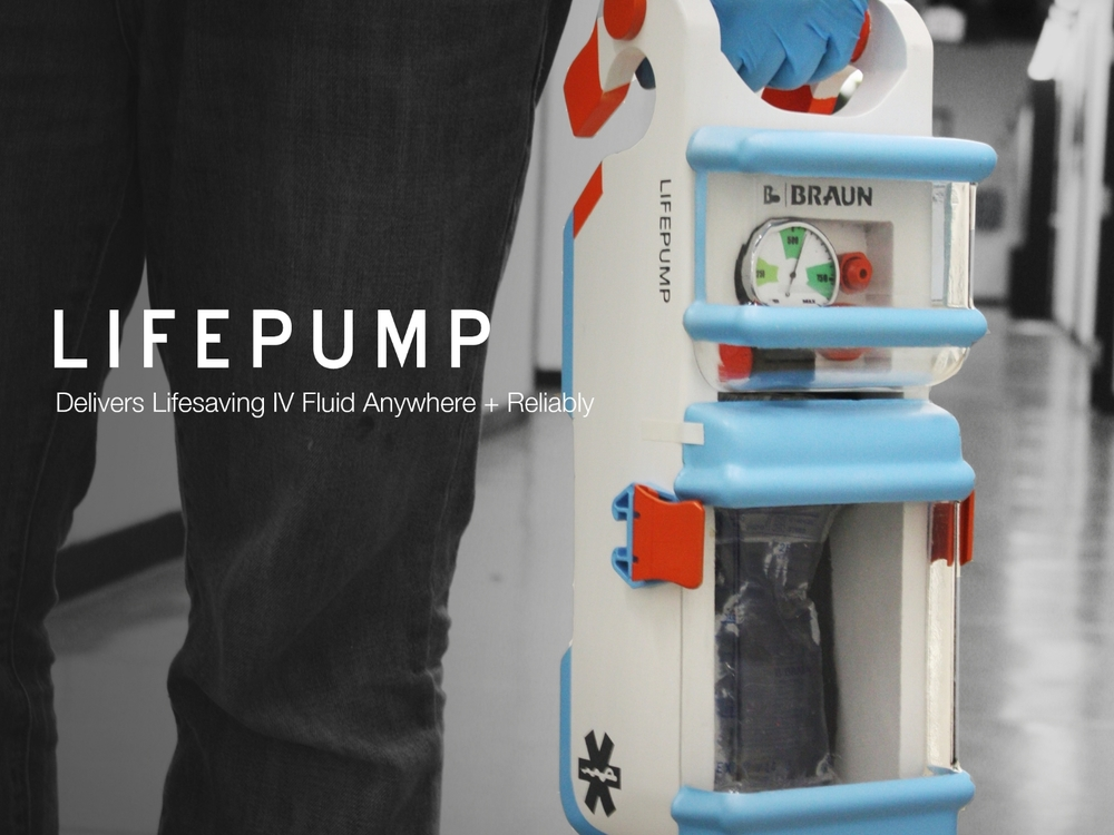 LIFEPUMP -  IV delivery anywhere
