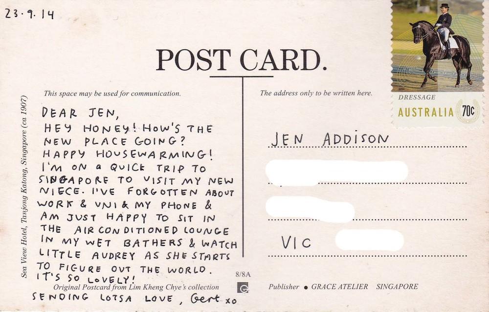 #45: Jen, Melbourne