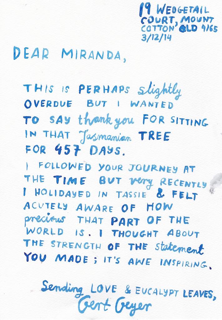 #97: Miranda Gibson, Tasmania