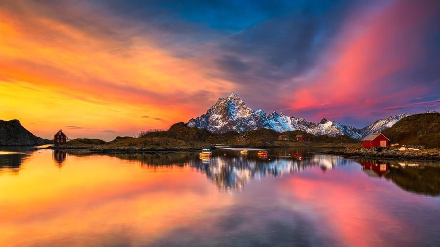 """""""Olsneset Sunrise"""" by Achim Sieger"""