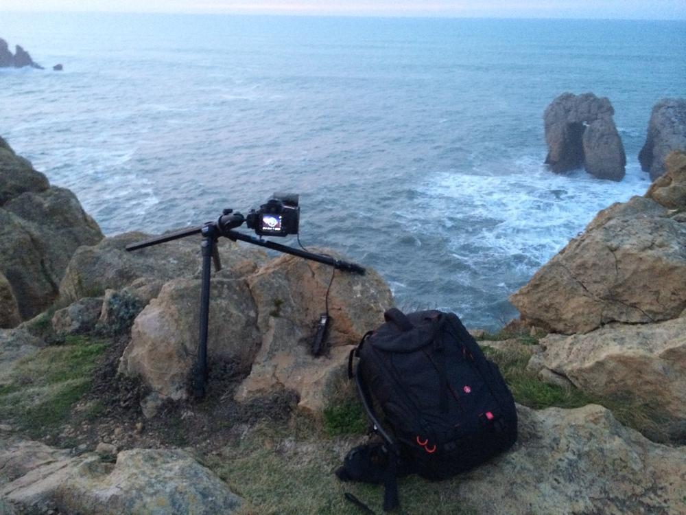 Behind the scenes at Los Urros, Spain