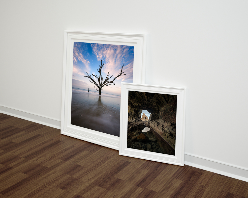 Two images that could be hanging on your wall / To bilder som kan bli dine.
