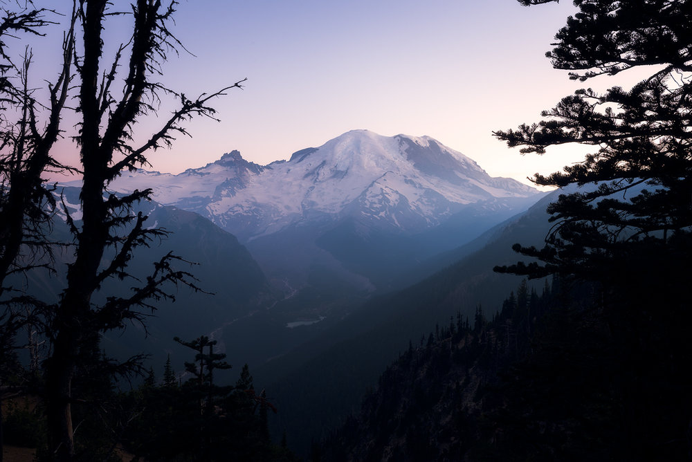 July - At the Top of Mt. Rainier