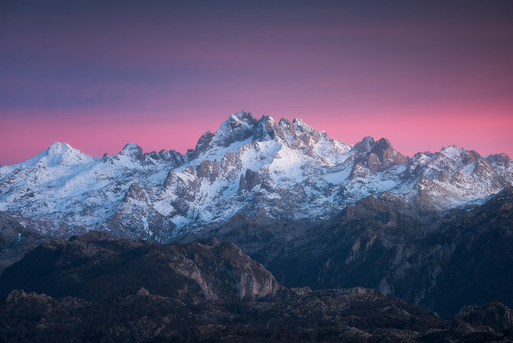November - From the Italian Mountains to the Spanish Mountains