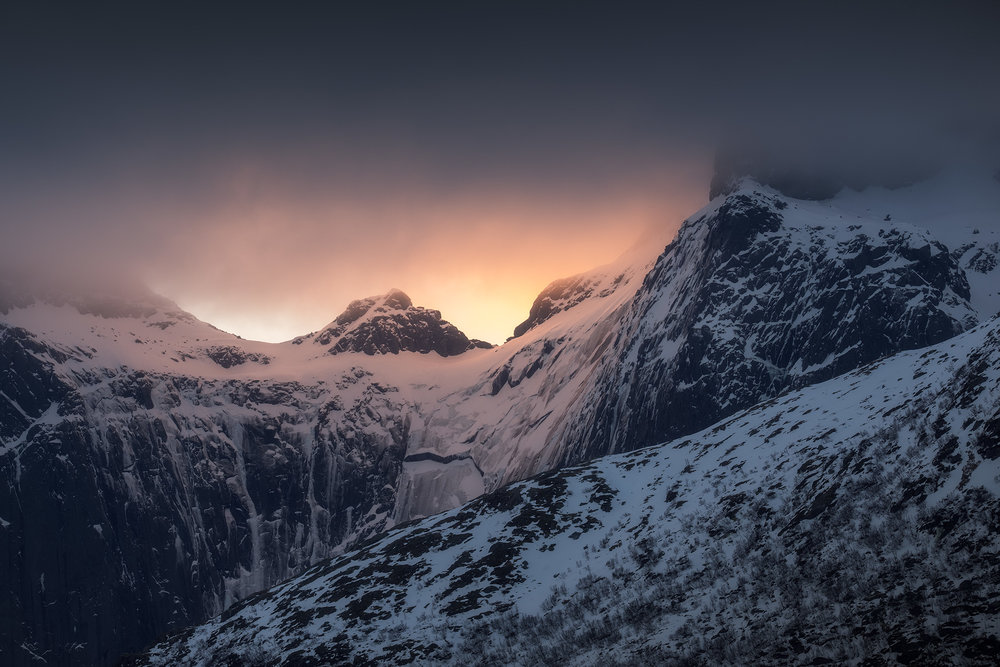 Nusfjord-Abstract-Mountains-Sunrise.jpg