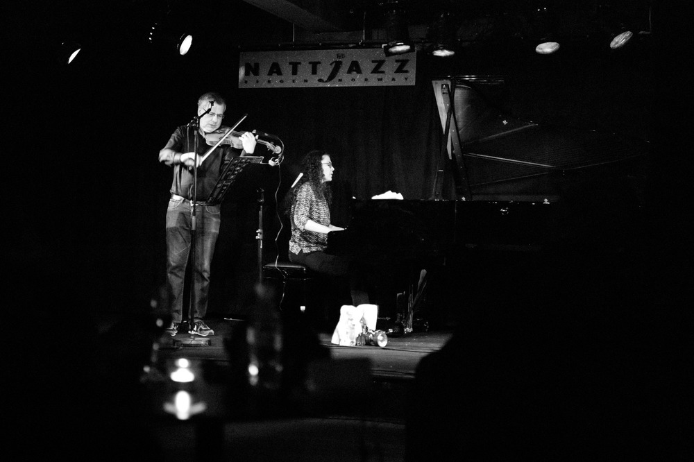 Sylvie Courvoisier / Mark Feldman Duo