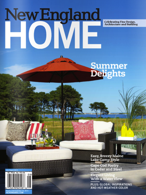 New England Home Magazine, July/August 2013
