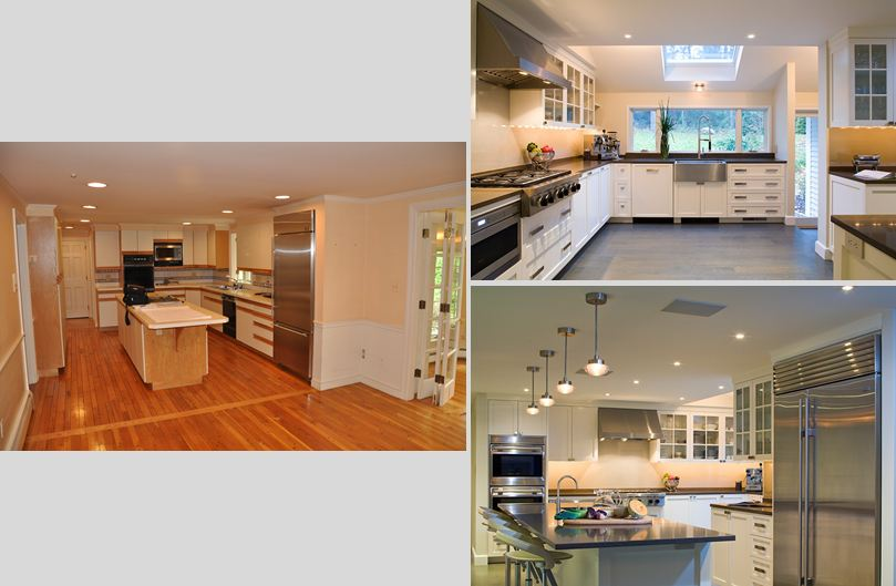 Kitchen Renovation, Weston, MA Duffy Design Group, Inc.
