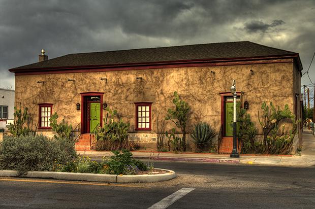 Duplex in Tucson, Arizona.