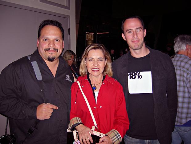 RC Concepcion, Sandra, Matt Klowkowski.