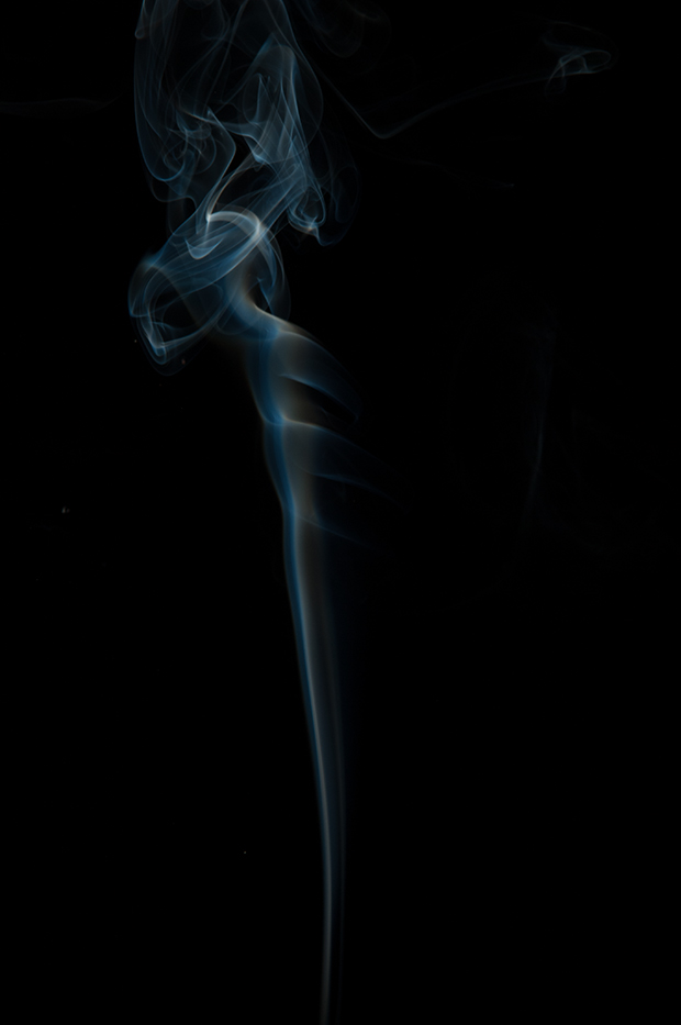 A nice, clean image of real smoke.