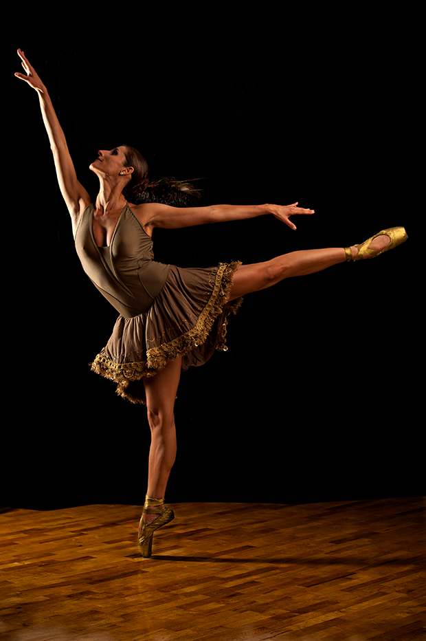 Accomplished dancers can also make graceful moves seem effortless.