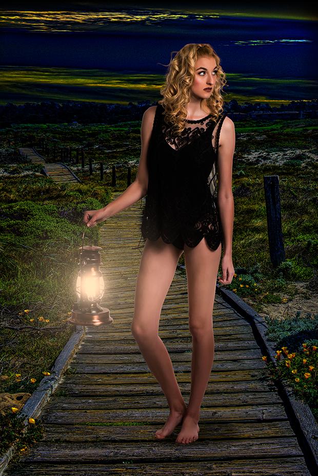 Model: Sara Bartfai.