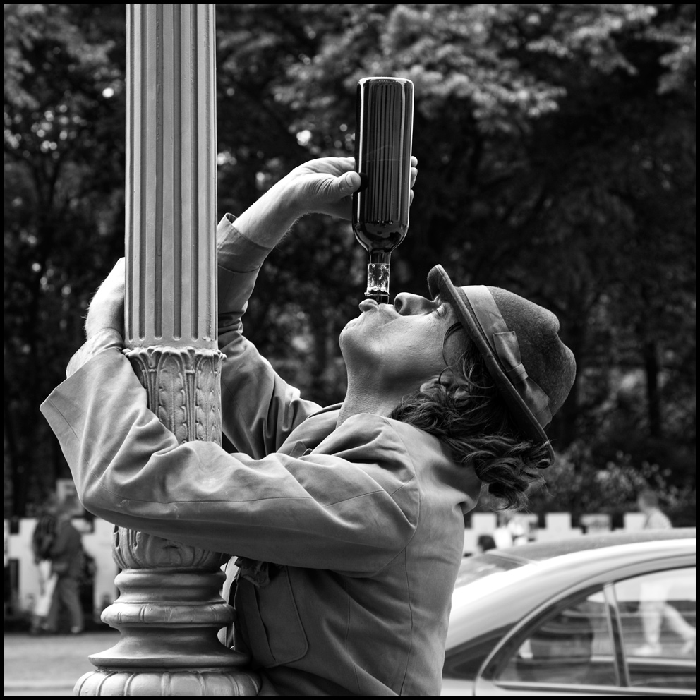 Berliner Straßenkünstler