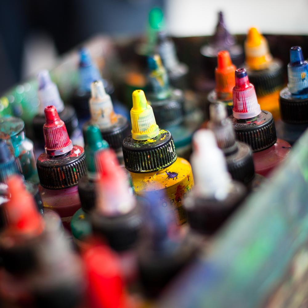 Feuerwerk der Farben !