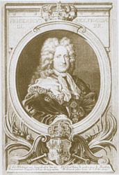 Bildnis des Königs von Preußen, Friedrich I. (1657-1713)