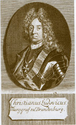 Bildnis des Markgrafen Christian Ludwig (1677-1734)