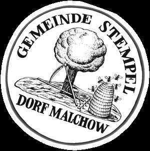 Malchower Dorfsiegel um 1850