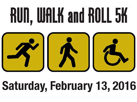 Disability Awareness Walk Run Roll