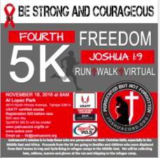 Joshua 1:9 Freedom 5K