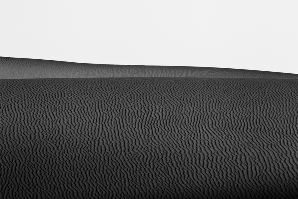 Waves at the desert