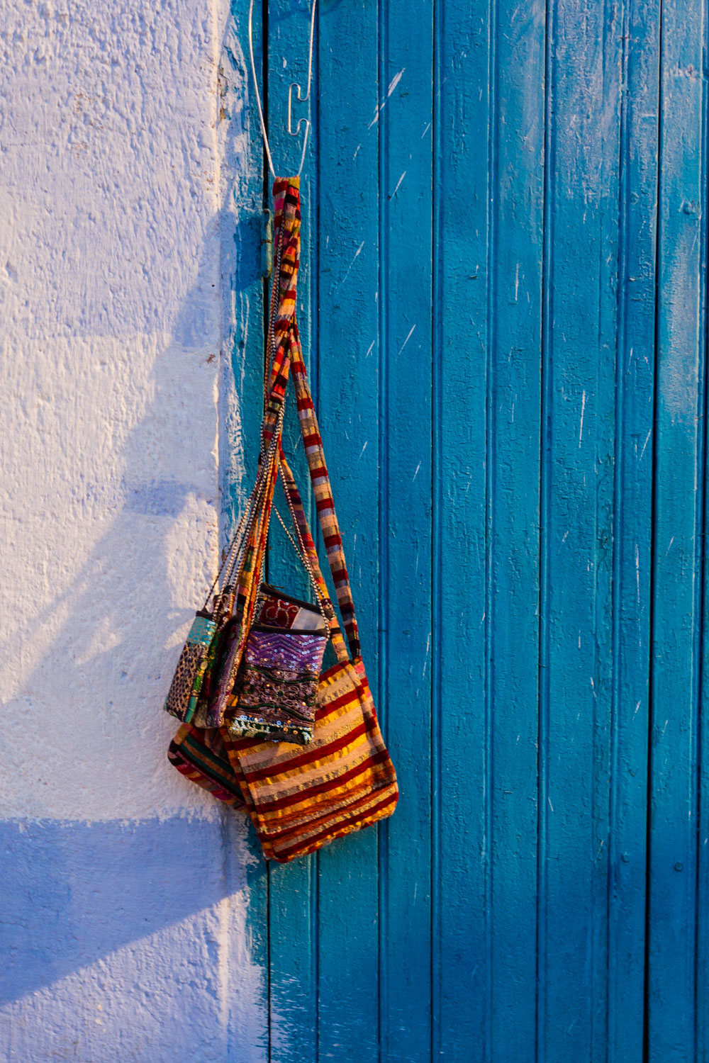 Hanging bags, Morocco
