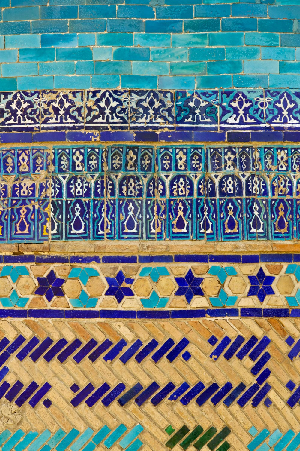 Walls of Shahi Zinda, Samarkand