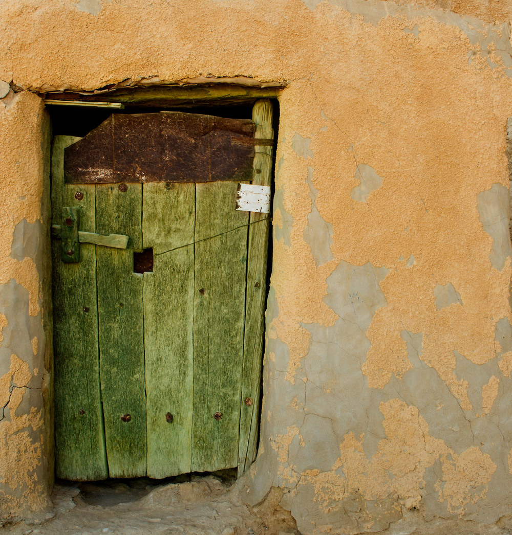 Old door, Siwa oasis
