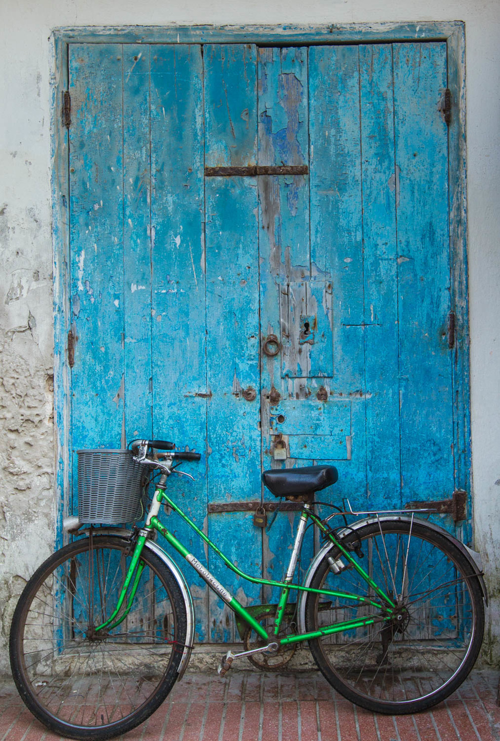 Green bike, Morocco