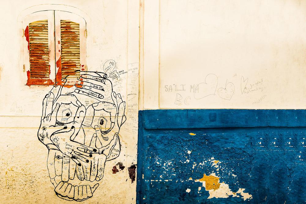 The skull, Morocco