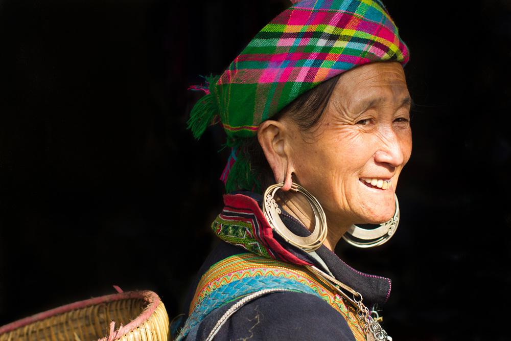 A woman from Vietnam