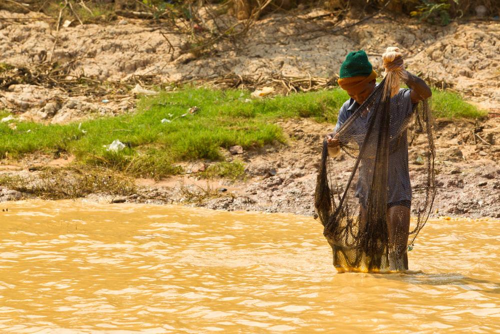Fisherman from Cambodia