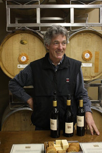 Chris Loxton of Loxton Cellars. Photo courtesy of Kick Ranch