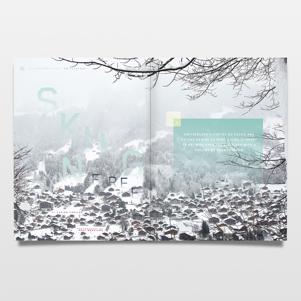 EARLY WINTER 2015 | THE FREEDOM ISSUE | ART DIRECTION & DESIGN