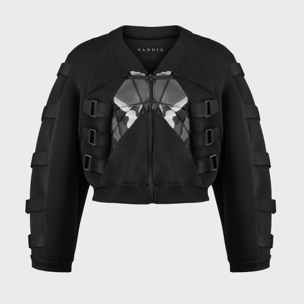 Bomber Jacket from Vandis' first collection @ vandis.it