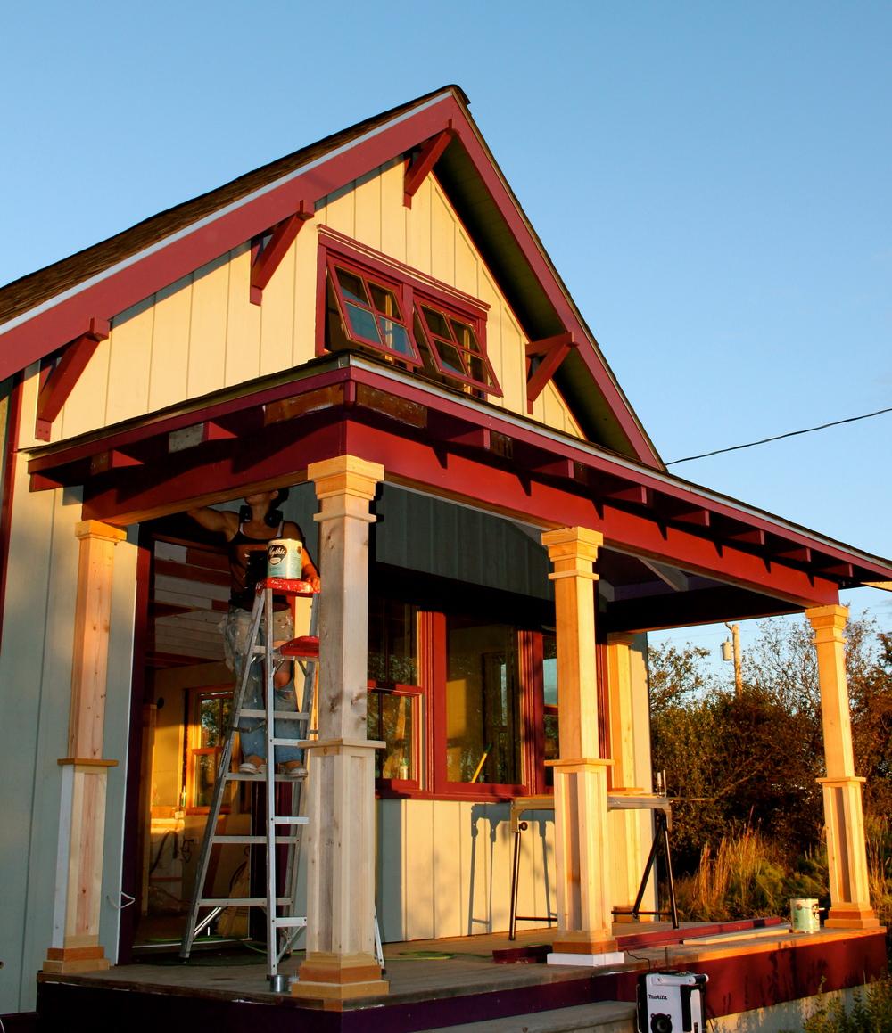 Corinthian Style Porch Pillar The Small House Catalog
