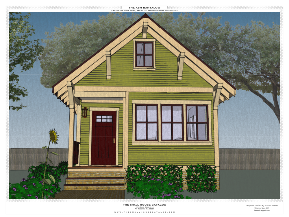 New free share plan the small house catalog Small building plan