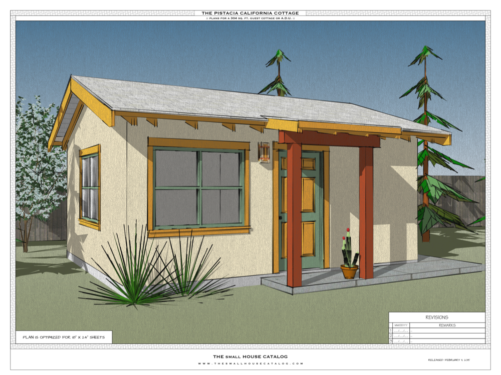 No 12 the pistacia accessory dwelling unit the small for Backyard cottage plans