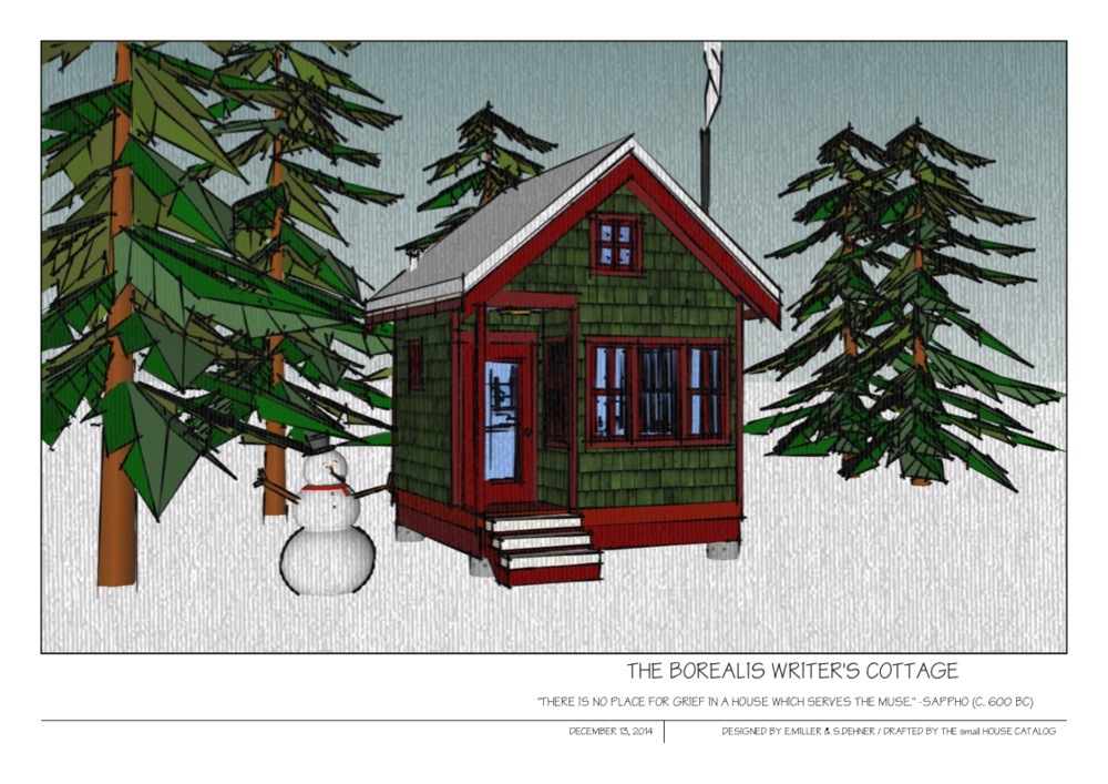 No 8 Borealis Writer 39 S Cottage The Small House Catalog