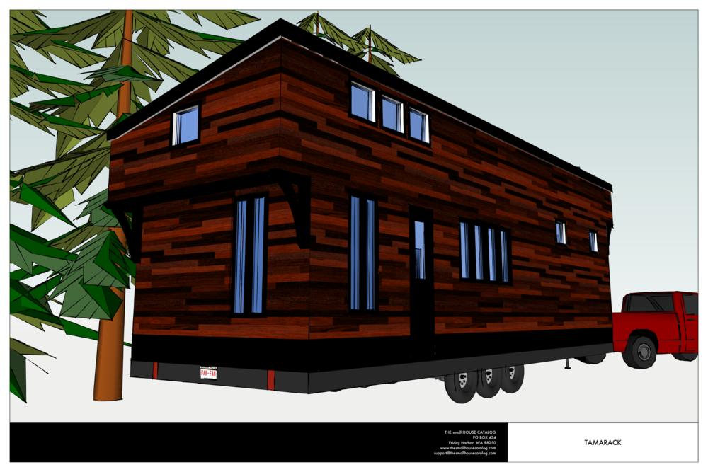 No 20 The Tamarack Tiny House Plan Small House Catalog