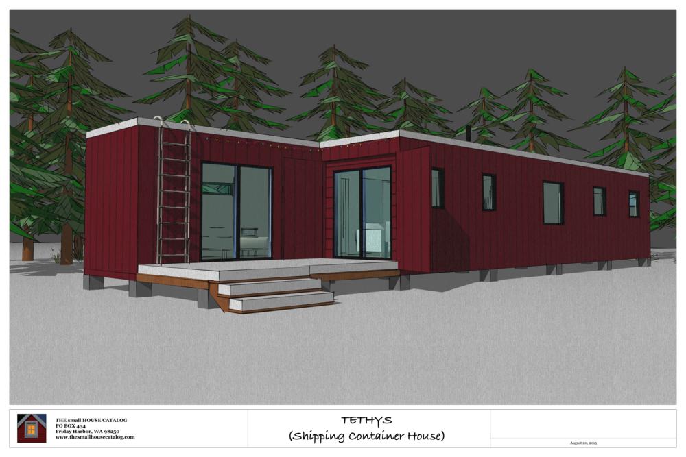 no 9 tethys shipping container house the small house catalog