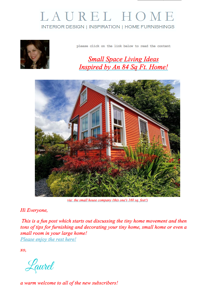 laurel ber the small house catalog