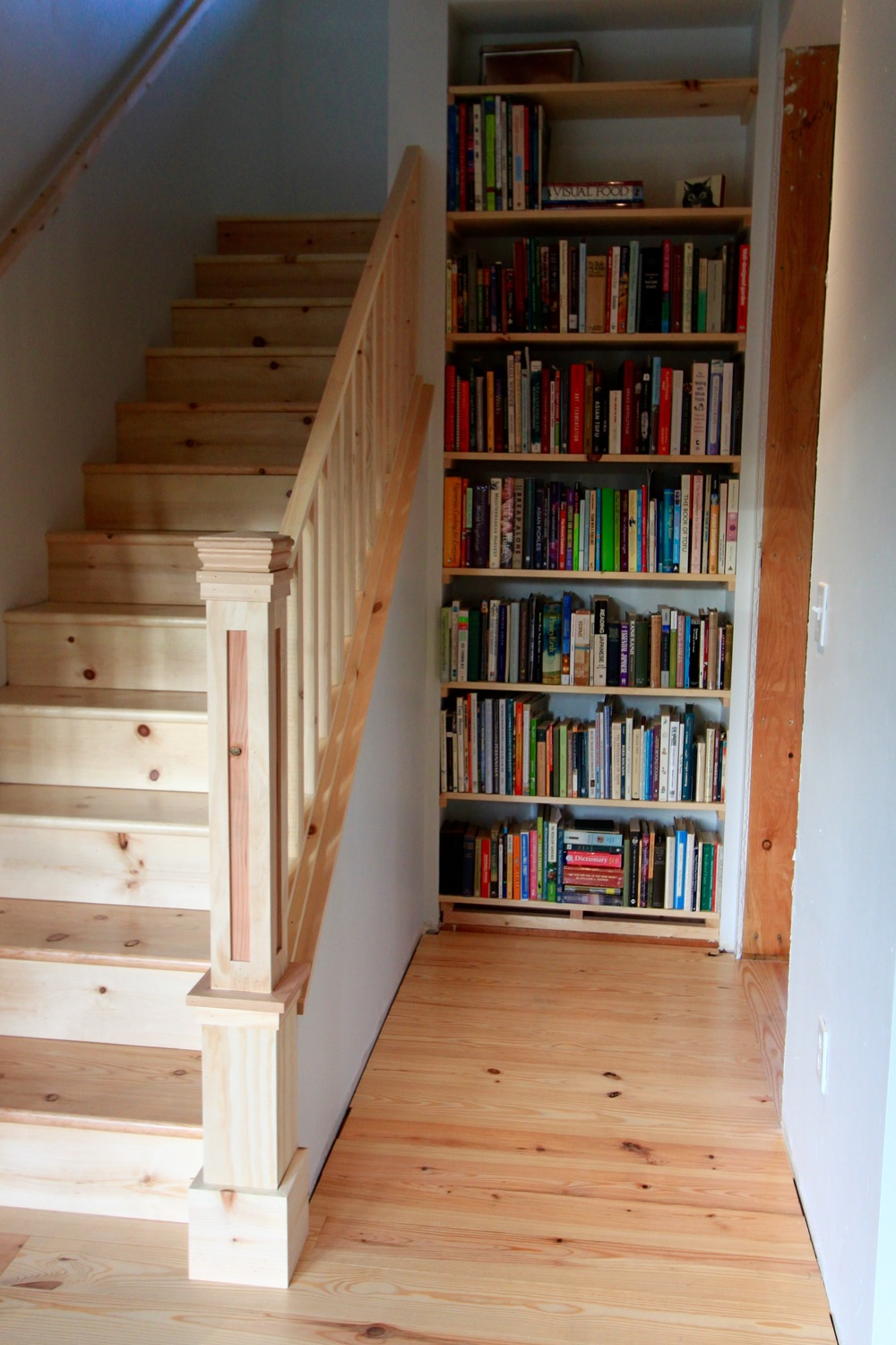 bookcase & stairs'.jpg