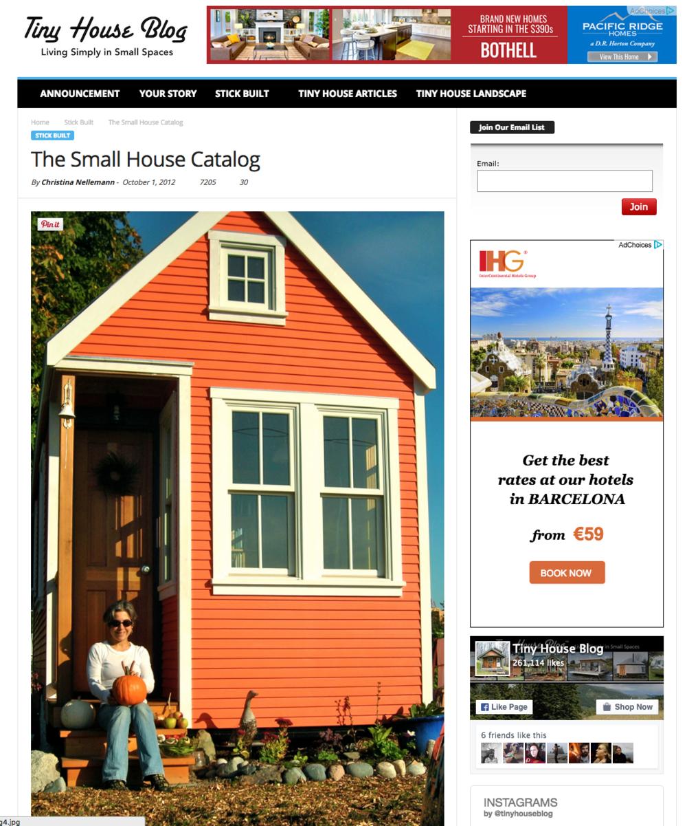 The Tiny House Blog
